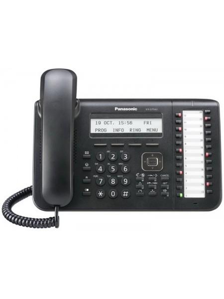 Системний телефон Panasonic KX-DT543RU Black (цифровий) для АТС Panasonic