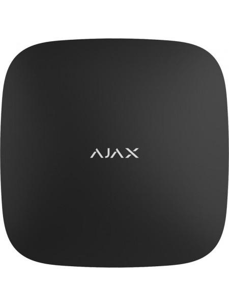 Інтелектуальна централь Ajax Hub чорна (GSM+Ethernet)