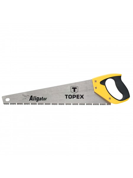 Пила TOPEX по дереву, 450 мм, Aligator, 7TPI (10A446)