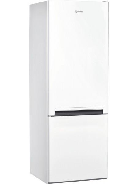 Холодильник з нижн. мороз. камерою Indesit LI6S1EW, 159х66х60см, 2 дв., Х- 196л, М- 75л, A+, ST, Біл