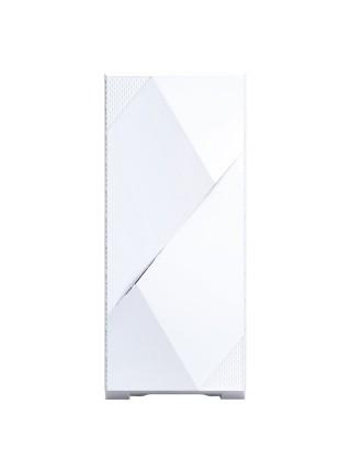 Корпус Zalman Z3 Iceberg, MidT,E-ATX, 1xUSB2.0,2xUSB3.0, 2x120ммARGB,скло(бічна панель),безБЖ,білий