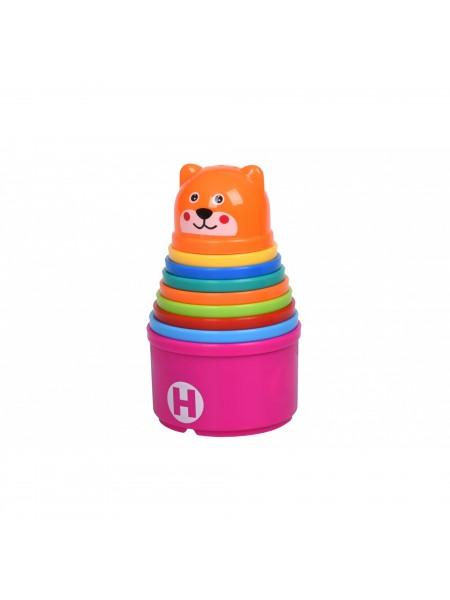 Набір для гри з піском Same Toy Чашки 9 од. 616Ut