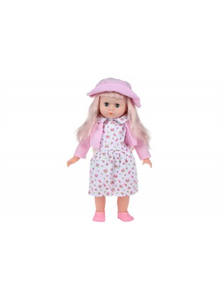 Лялька Same Toy в капелюшку (рожевий) 45 см 8010CUt-1