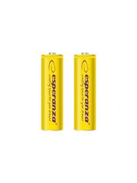 Акумулятор Ni-MH AA 2000 mAh, 2шт, жовтий Esperanza EZA103Y