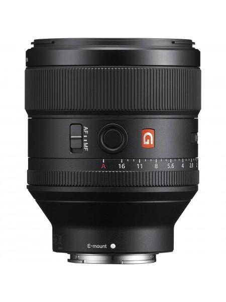 Об`єктив Sony 85mm f/1.4 GM для NEX FF (SEL85F14GM.SYX)