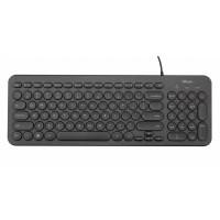 Клавиатура Trust Muto Silent Keyboard (23408)