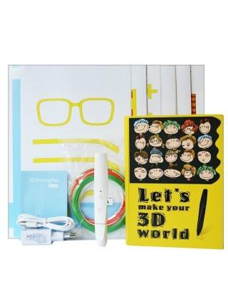 Ручка 3D Dewang D12 біла низькотемпературна (PCL)