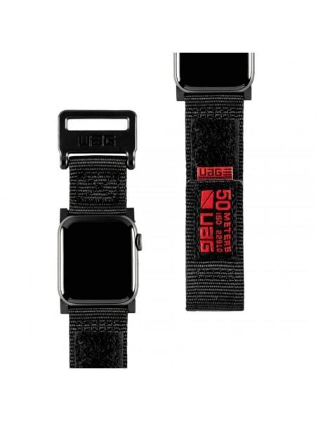 Ремінець UAG для Apple Watch 44/42 Active Strap, Black (19148A114040)