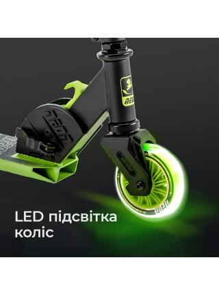 Самокат Neon Vector Зелений