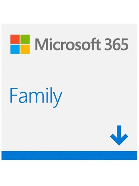 Програмний продукт Microsoft 365 Family AllLng Sub PK Lic 1YR Online CEE C2R NR (6GQ-00084)