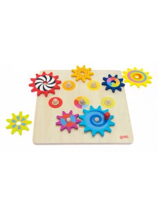 Розвиваюча гра goki Пізнавальні шестерні 58530