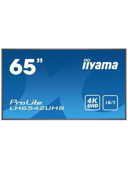 """Інформаційний дисплей 64,5"""" Iiyama LH6542UHS-B1 (LH6542UHS-B1)"""