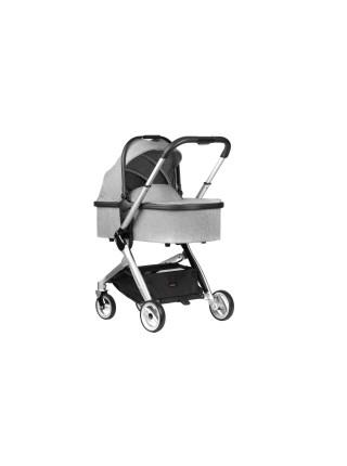Дитяча коляска 2в1 Miqilong Luna Grey