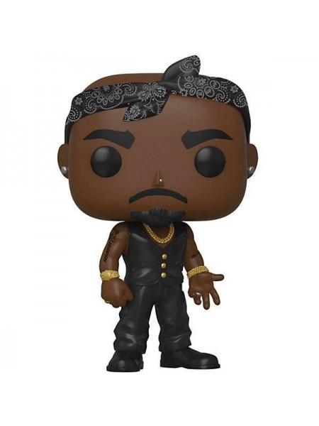 Фігурка Funko POP! Rocks Tupac Vest w/Bandana 45432