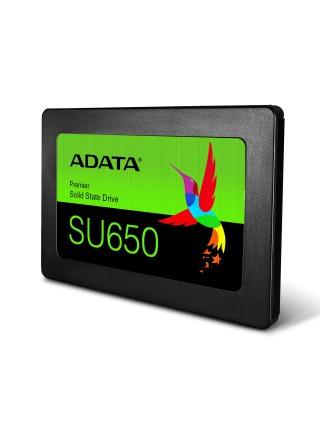 """Твердотільний накопичувач SSD ADATA SATA 2.5"""" 256GB SU650 TLC"""