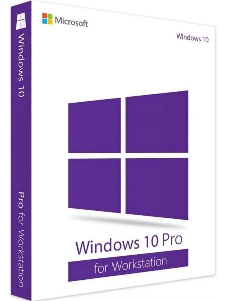 Програмне забезпечення Microsoft Windows Pro for Workstations 10 64Bit Ukrainian 1pk OEM DVD