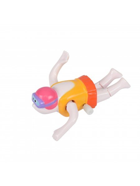 Заводна іграшка goki Плавець жовтий 13097G-3