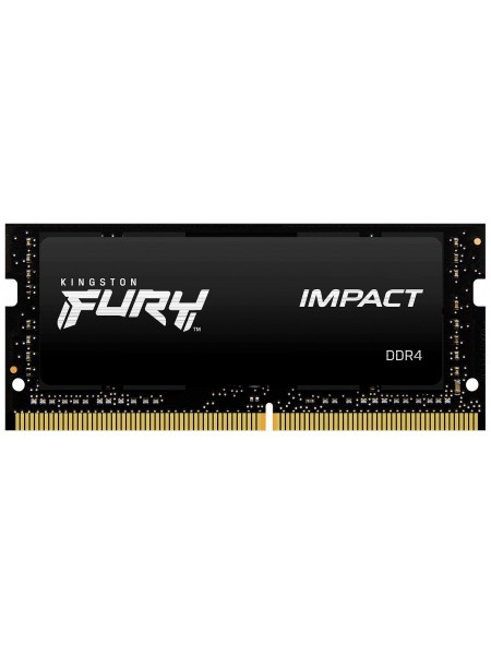 Пам'ять до ноутбука Kingston DDR4 2666 32GB KIT (16GBx2) SO-DIMM FURY Impact