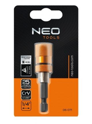 """Тримач насадок NEO, 1/4 """", 60 мм"""