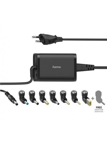 Універсальний зарядний пристрій НАМА для ноутбуків, 15-219В / 65 Вт, black (00200002)