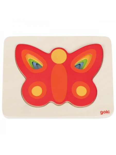 Пазл-вкладиш goki Метелик 57486G