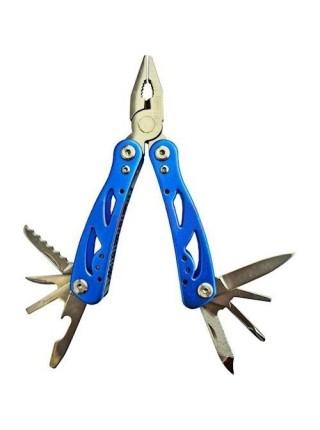 """Мультиінструмент міні """"Mini Multitool"""" (пассатижі, пилка, ніж, викрутка Ph, викруткаSl 3 мм, напилок"""