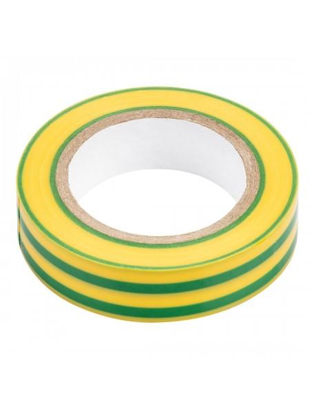 Ізолента NEO жовто-зелена 15mmx0.13mmx10m