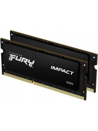 Пам'ять до ноутбука Kingston DDR3 1866 16GB KIT (8GBx2) SO-DIMM 1.35V/1.5V FURYImpact
