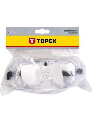 Окуляри захисні TOPEX 82S109 прозорі (82S109)