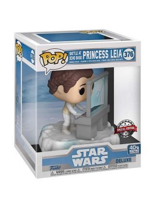 Фігурка Funko POP! Deluxe Bobble Star Wars Leia (Exc) 45901