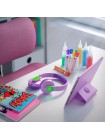 Навушники Philips Kids TAK4206 On-ear Colored light panels Wireless Mic Рожевий