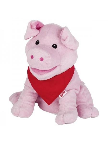 Лялька-рукавичка goki Свинка 51782G