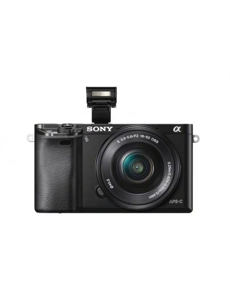 Цифр. фотокамера Sony Alpha 6000 kit 16-50mm Black (ILCE6000LB.CEC)