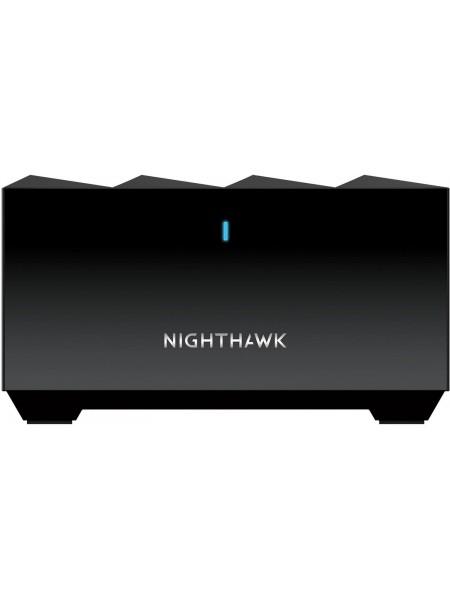 WiFi-система NETGEAR Nighthawk MK63 AX1800 WiFi 6, MESH, 1xGE LAN, 1xGE WAN, чорн. кол. (3шт.)