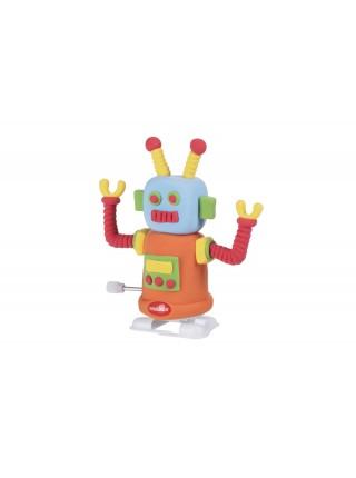 Маса для ліплення Paulinda Super Dough Robot заводний механізм (крокує), помаранчевий PL-081178-3