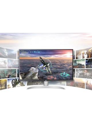 "Монітор LCD 27"" LG 27UP650-W 2xHDMI, DP, Audio, IPS, Pivot, 3840x2160 (4K), DCI-P3 95%, HDR400, Free"