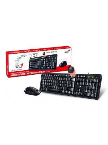 Genius Smart KM-8200 WL Black Ukr
