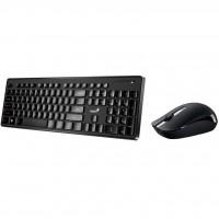 Набор мышь + клавиатура беспроводная Black UKR Genius SlimStar 8006 (31340002406)
