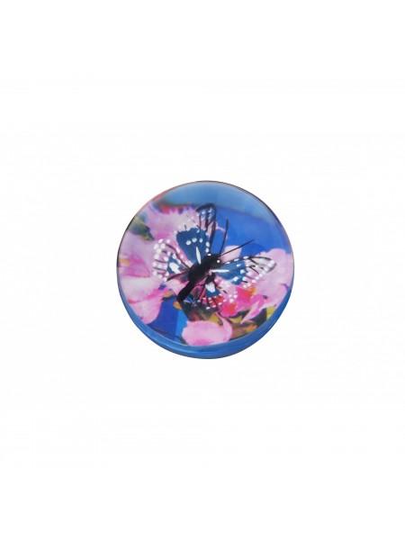 М'ячик-стрибунець goki Метелик чорний в крапочку 16019G-3