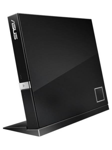 Привід ASUS SBW-06D2X-U Blu-ray Writer USB2.0 EXT Ret Slim Black