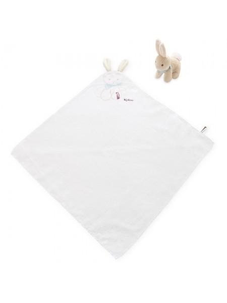 Подарунковий набір Kaloo Les Amis Ковдра з іграшкою Кролик K962996