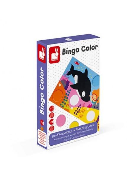 Настільна гра Janod Бінго. Вивчення кольору J02693