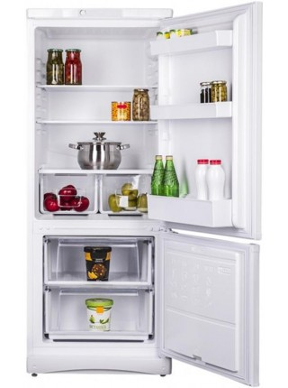 Холодильник з нижн. мороз. камерою STINOL STS150AAUA, 150х62х60см, 2 дв., Х- 189л, М- 54л, A+, ST, Б