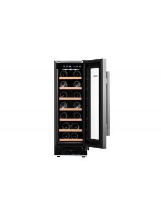 Вбуд. холодильник для вина ARDESTO WCBI-M19, 87см, 1 дв., Холод.відд. - 60л, ST, Темп.зон - 1, Нерж