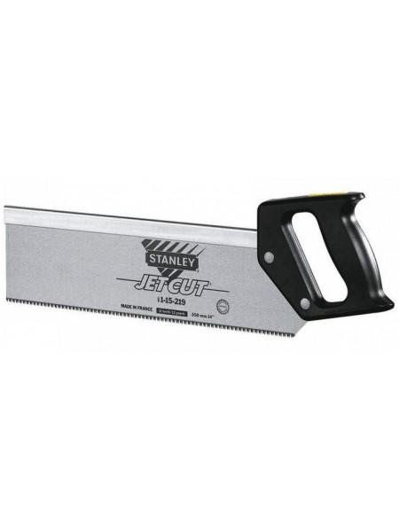 "Ножівка Stanley по дереву, обушкова ""Jet Cut"", пластикова ручка, 350мм, 11 tpi (1-15-219)"