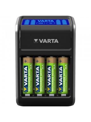 Зарядний пристрій VARTA LCD PLUG CHARGER+4xAA 2100 mAh (57687101441)