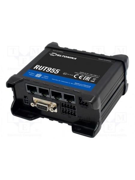 Індустріальний 4G/LTE маршрутизатор,2 SIM карти Teltonika RUT955 (RUT955T033B0)