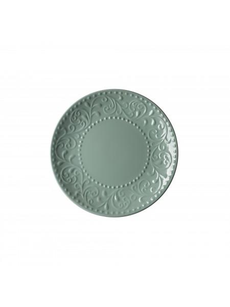 Тарілка десертна Ardesto Olbia, 19 см, Green Bay, кераміка (AR2919GC)