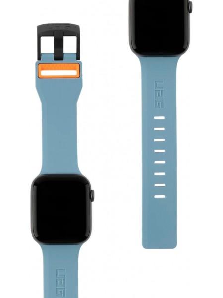 Ремінець UAG для Apple Watch 44/42 Civilian, Slate/Orange (19148D115497)
