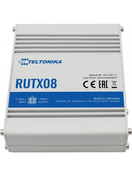 Індустріальний Ethernet маршрутизатор Teltonika RUTX08 (RUTX08000000)